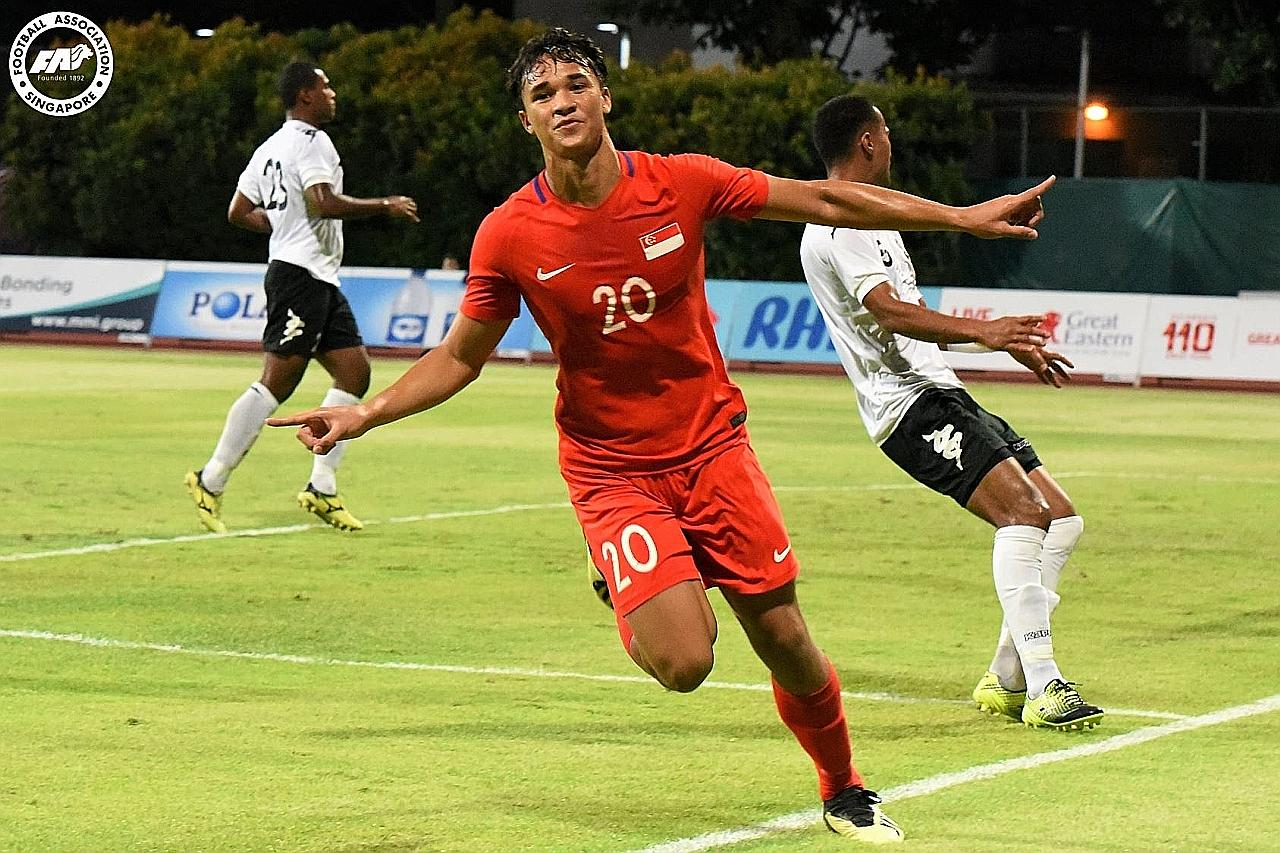 BOLA SEPAK SETEMPAT Ikhsan Fandi ke Norway sertai sesi percubaan kelab Raufoss