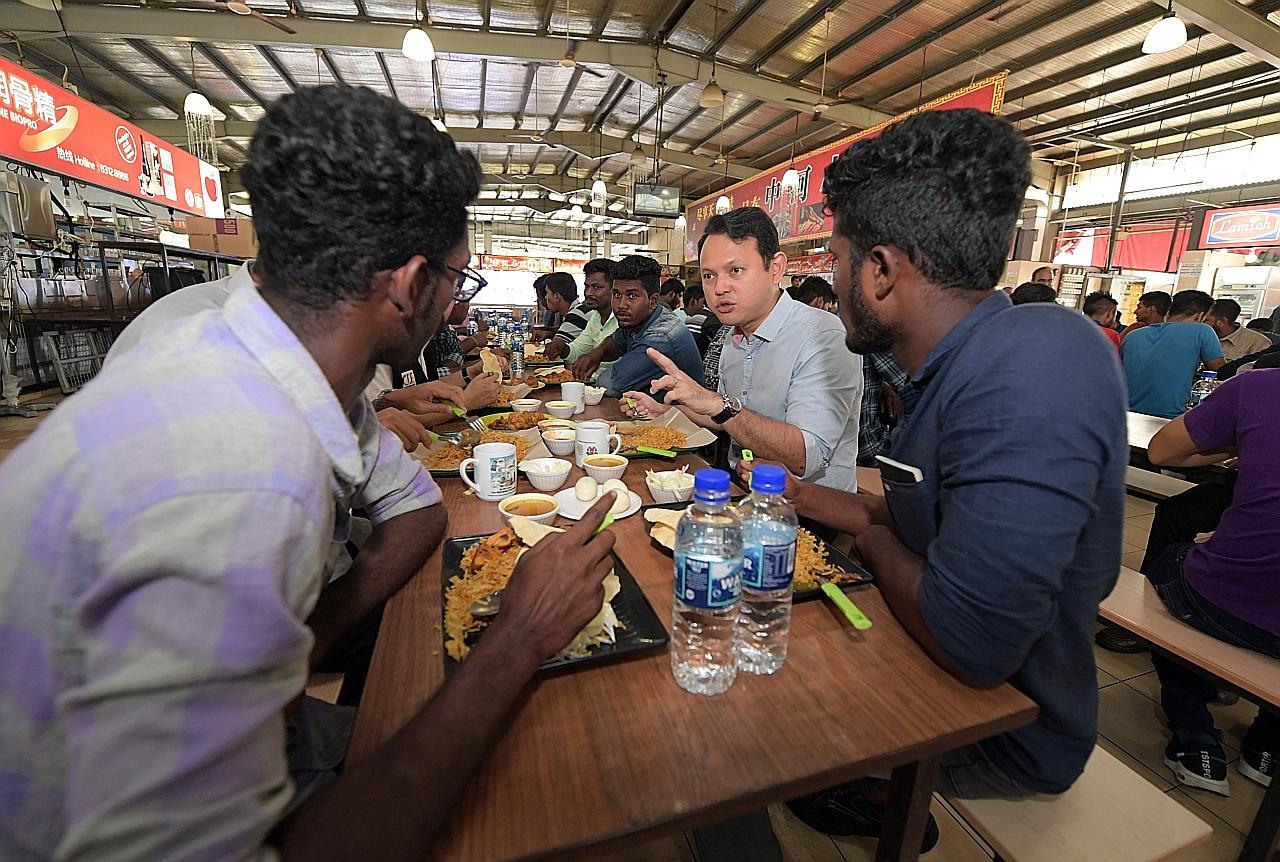 Program penyesuaian pekerja asing diluaskan didik sekitaran kerja di S'pura