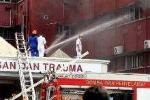 Enam maut dalam kebakaran di Hospital Sultanah Aminah di JB