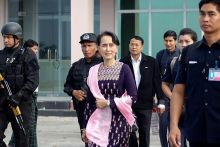 Suu Kyi buat lawatan mengejut ke Rakhine