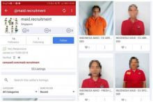 Indonesian embassy to seek thorough probe into online 'sale' of maids in Singapore
