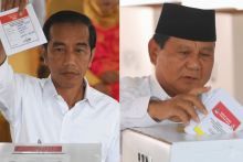 Jokowi and Prabowo optimistic about chances as polls close in Indonesia