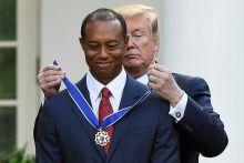 Woods dianugerah Pingat Kebebasan Presiden