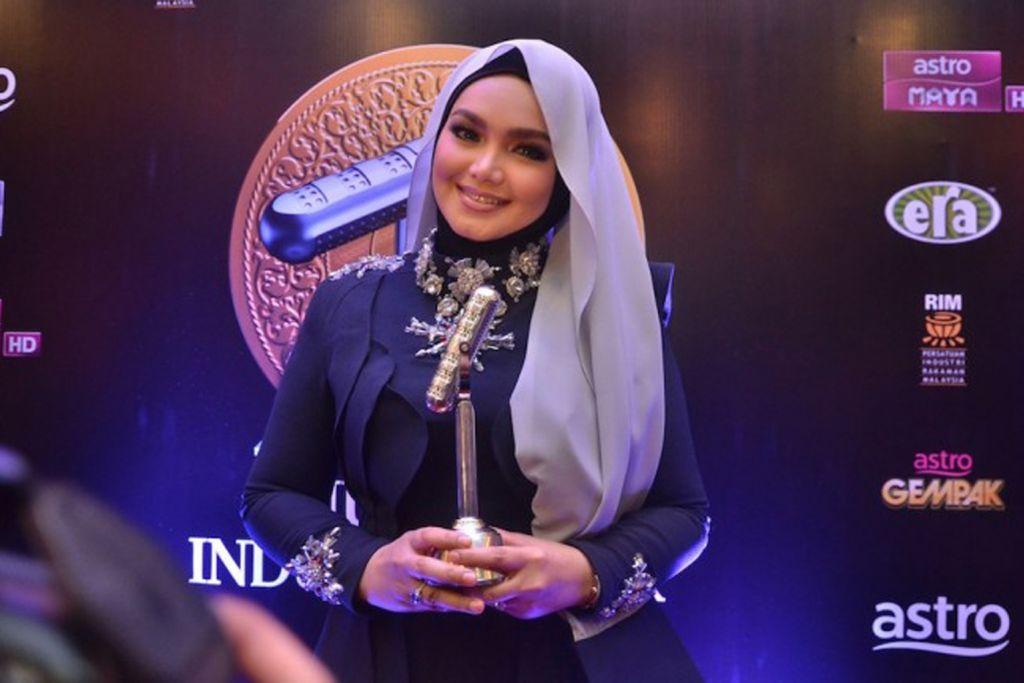 Siti Nurhaliza kekal Ratu AIM dengan tujuh pencalonan