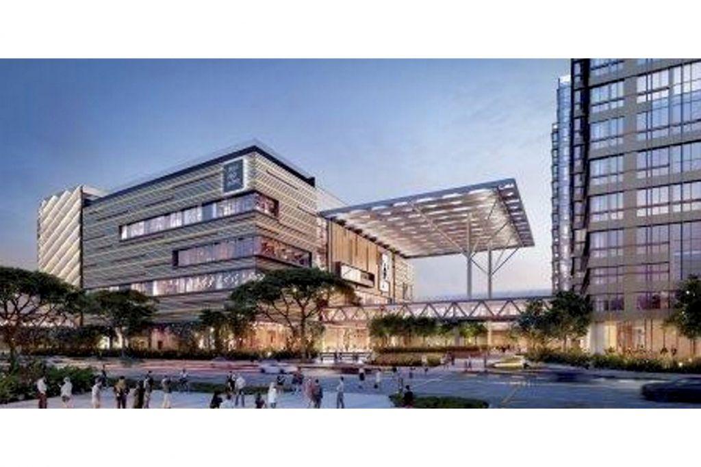 Pembangunan bersepadu Paya Lebar bernilai $3.2b akan dibangunkan