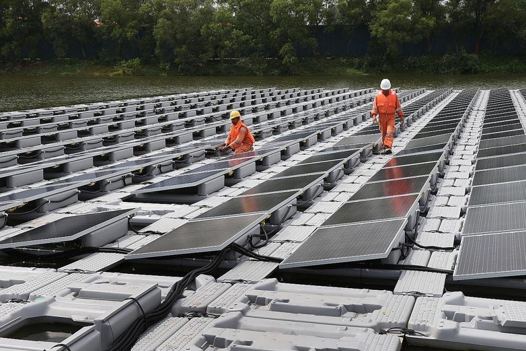 Tapak uji sel fotovoltan kuasa suria terapung terbesar dunia dilancar