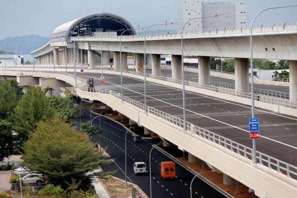 Laluan jejambat sepanjang 4.8km dari Tuas Road ke Tuas West Road  akan dibuka pada 18 Feb 2017.