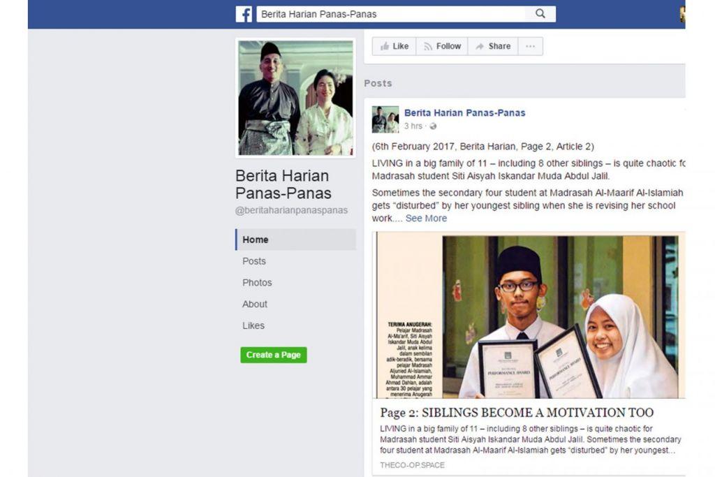 PROJEK BERITA HARIAN PANAS PANAS: Kumpulan setempat The Co-op mengumpulkan terjemahan kepada bahasa Inggeris rencana pilihan terbitan akhbar 'Berita Harian' supaya semua kaum boleh memahami isu dan keprihatinan yang menjadi perbincangan masyarakat Melayu. - Foto FACEBOOK BERITA HARIAN