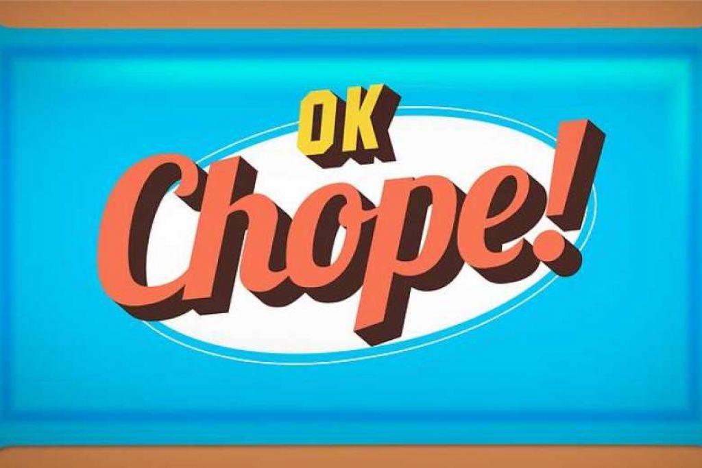 PROGRAM LAWAK: Persembahan komedi mingguan 'Ok Chope!' disiarkan secara langsung setiap Rabu di Saluran 5, di mana ia membariskan satu panel pelawak terdiri daripada pelawak termasuk Mike Kasem, Sam See, Najip Ali dan Rishi Budhrani. - Foto BERITA HARIAN