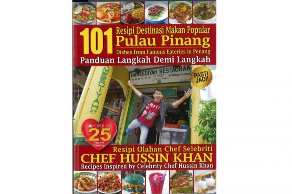HIDANGAN PULAU PINANG: Orang ramai boleh mengetahui tentang pelbagai kedai makanan halal yang menyediakan hidangan tempatan di Pulau Pinang menerusi buku '101 Resipi Destinasi Makan Popular Pulau Pinang' yang boleh didapatkan secara eksklusif di kedai buku Popular.  – Foto-foto KEDAI BUKU POPULAR