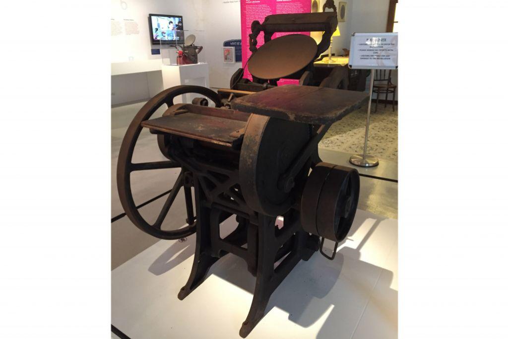 Pengenalan mesin cetak rangsang terbitan awal
