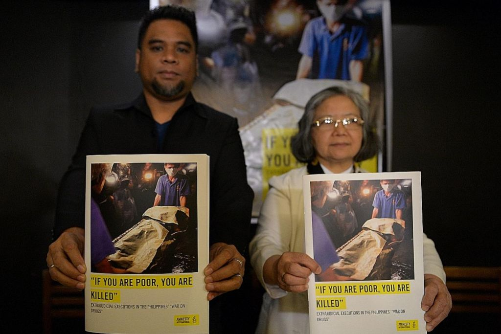 Amnesty: Polis Filipina mungkin laku jenayah kemanusiaan