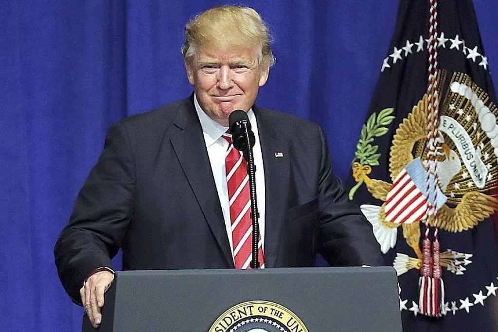Politik untung rugi Trump?