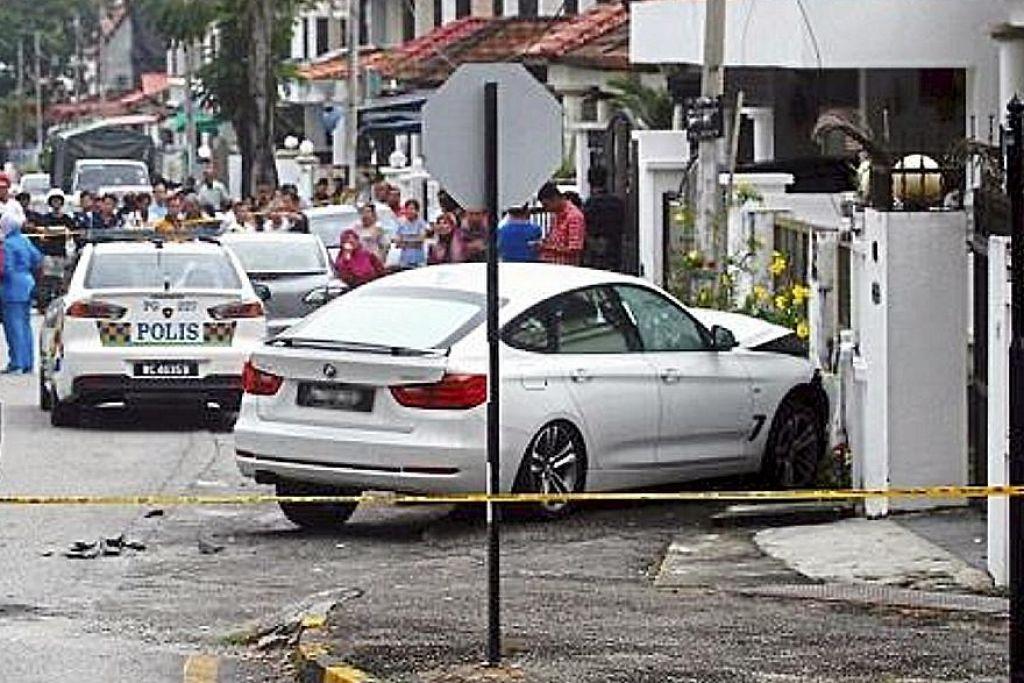 Peniaga di Pulau Pinang ditembak semasa waktu sesak