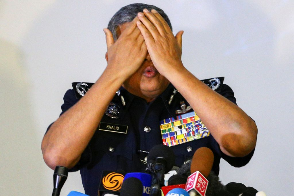 Polis dedah racun bunuh disapu di muka