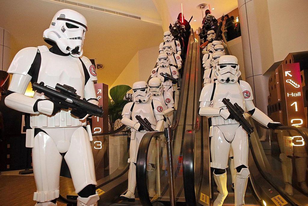 Kerjasama STB-Disney: S'pura anjur Pesta Star Wars