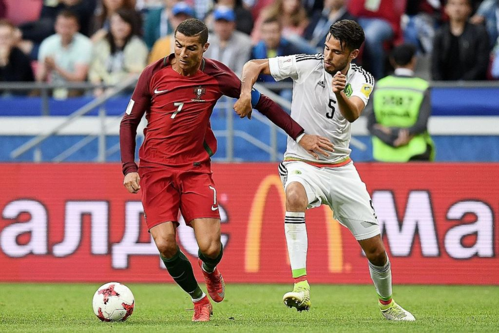 Ronaldo tidak cemas Portugal hanya seri 2-2 dengan Mexico PIALA KONFEDERASI
