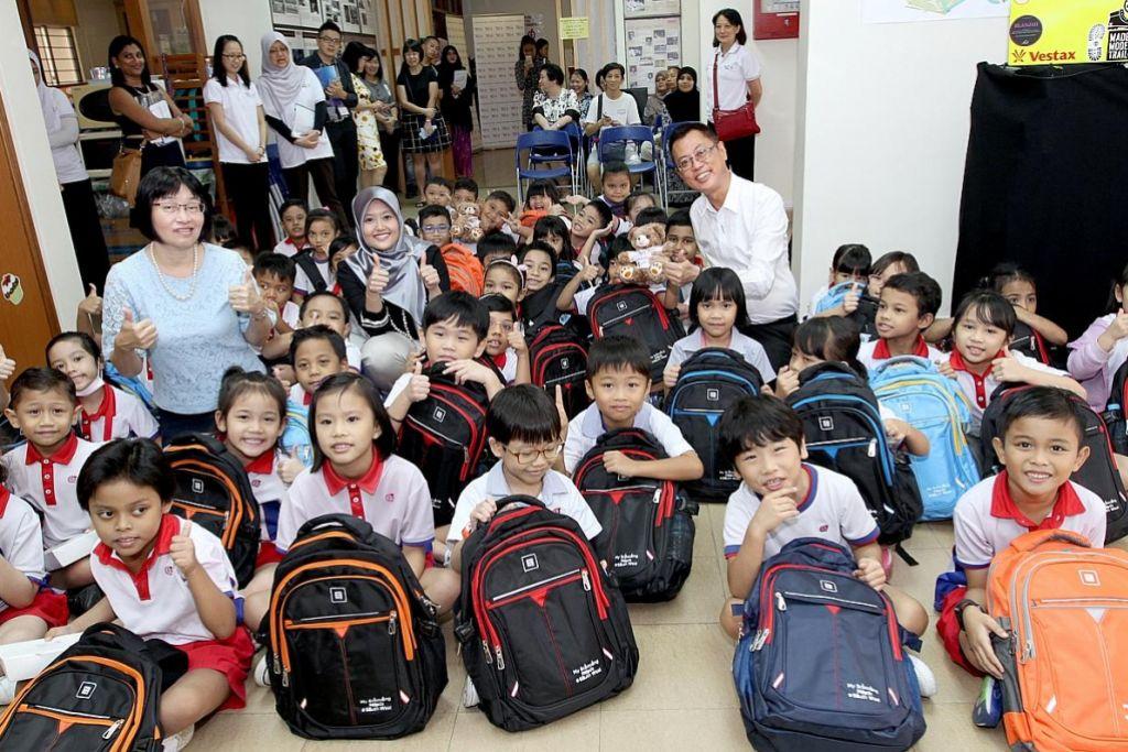 Bantuan $60,000 untuk 300 murid tadika