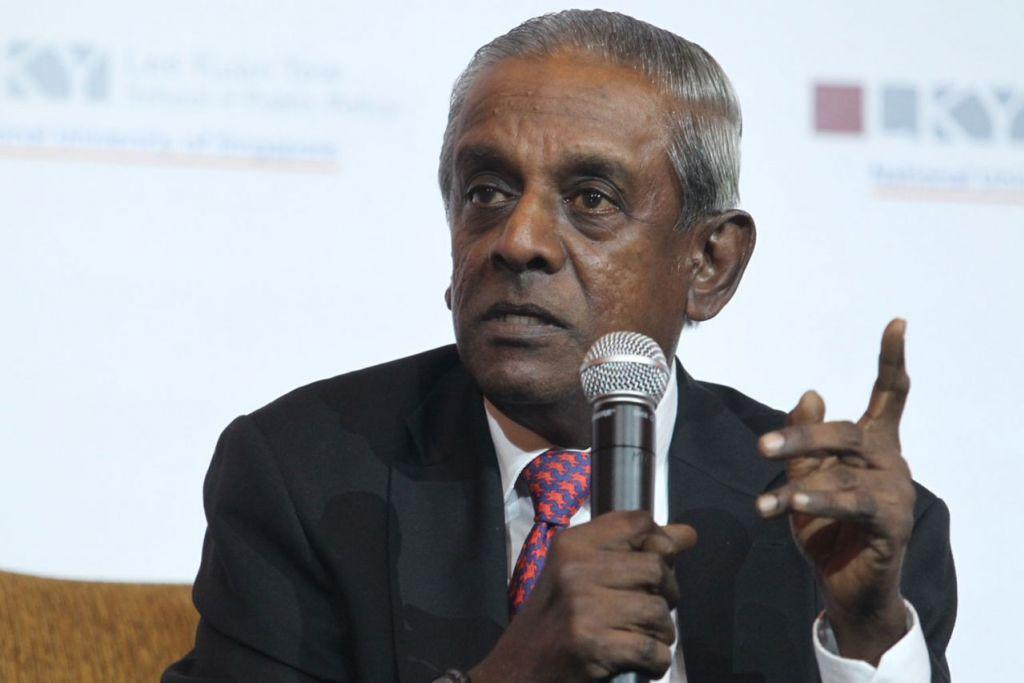 PROFESOR S. JAYAKUMAR: Berpendapat kes yang dikemukakan Malaysia berhubung Pedra Branca mempunyai asas undang-undang yang lemah. - Foto fail