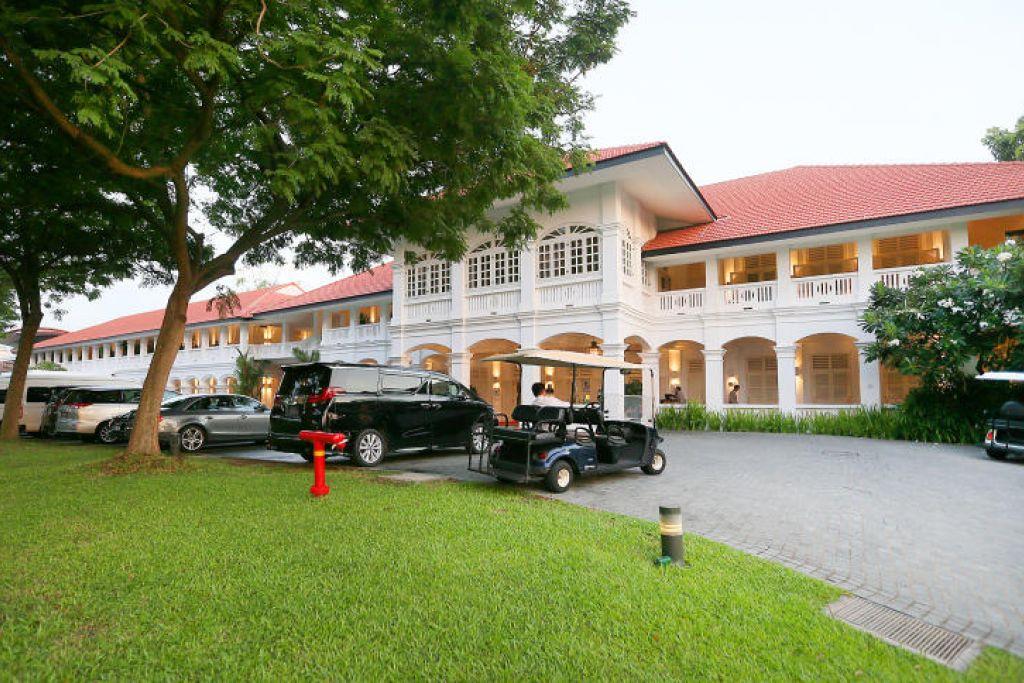 Hotel Capella di Sentosa in berada dalam Kawasan Acara Khas