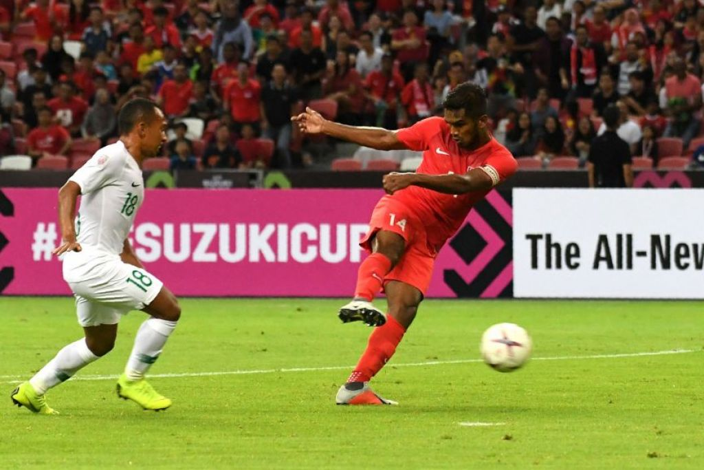 Singapore open AFF Suzuki Cup campaign with 1-0 win over Indonesia
