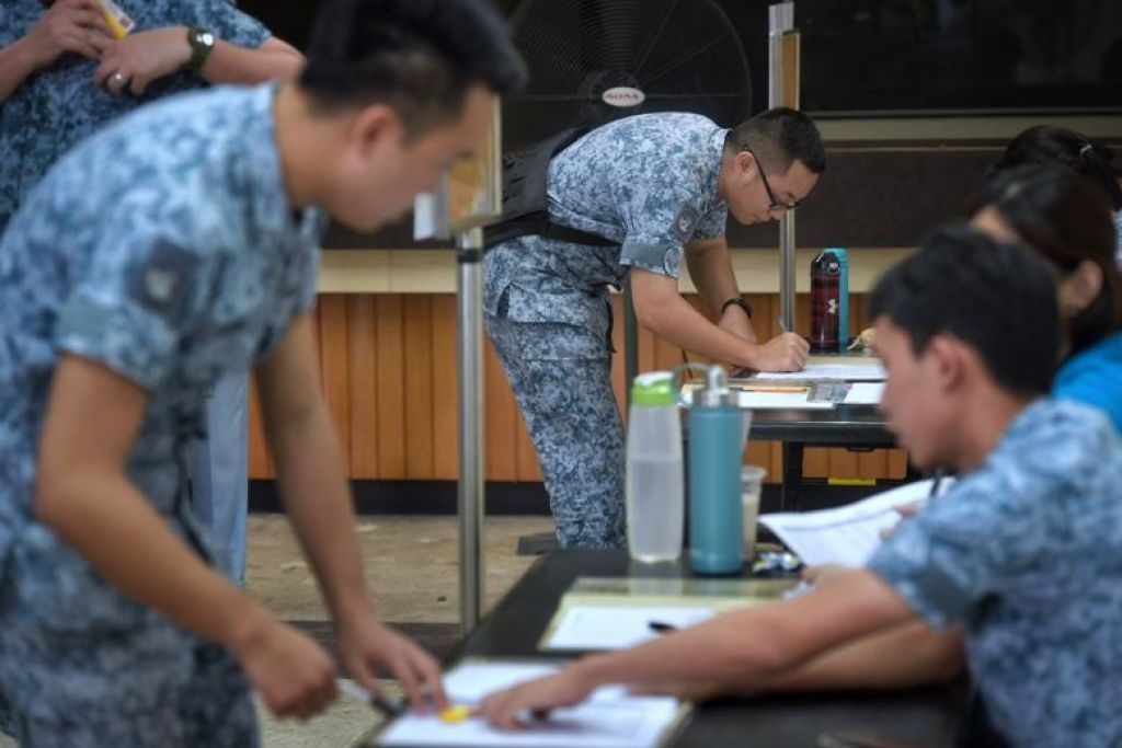 RSAF conducts mobilisation exercise for five fighter squadrons