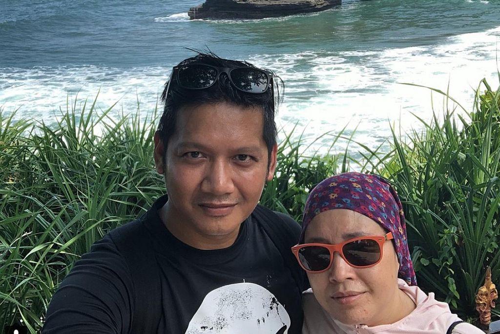 Polis pesara yang koma di Bali dibawa pulang ke S'pura