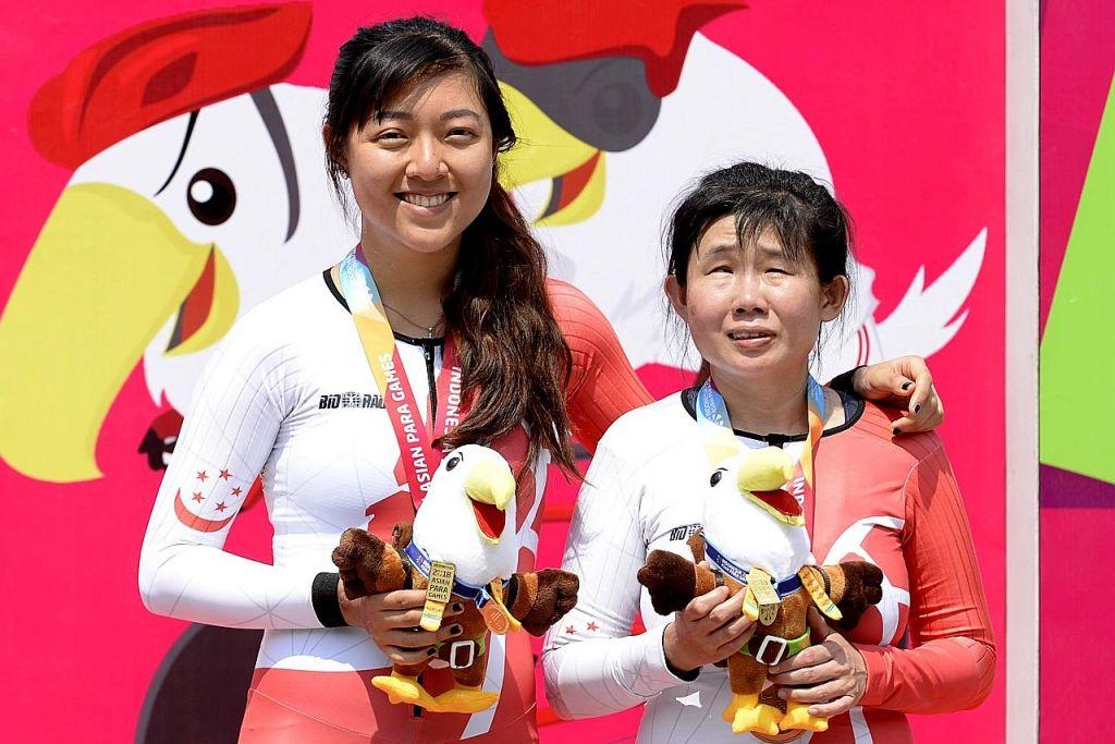 SUKAN PARA ASIA DI JAKARTA Pasukan basikal raih pingat pertamanya