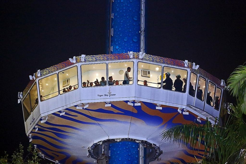 Syarikat pengurusan henti operasi 'Tiger Sky Tower' di Sentosa