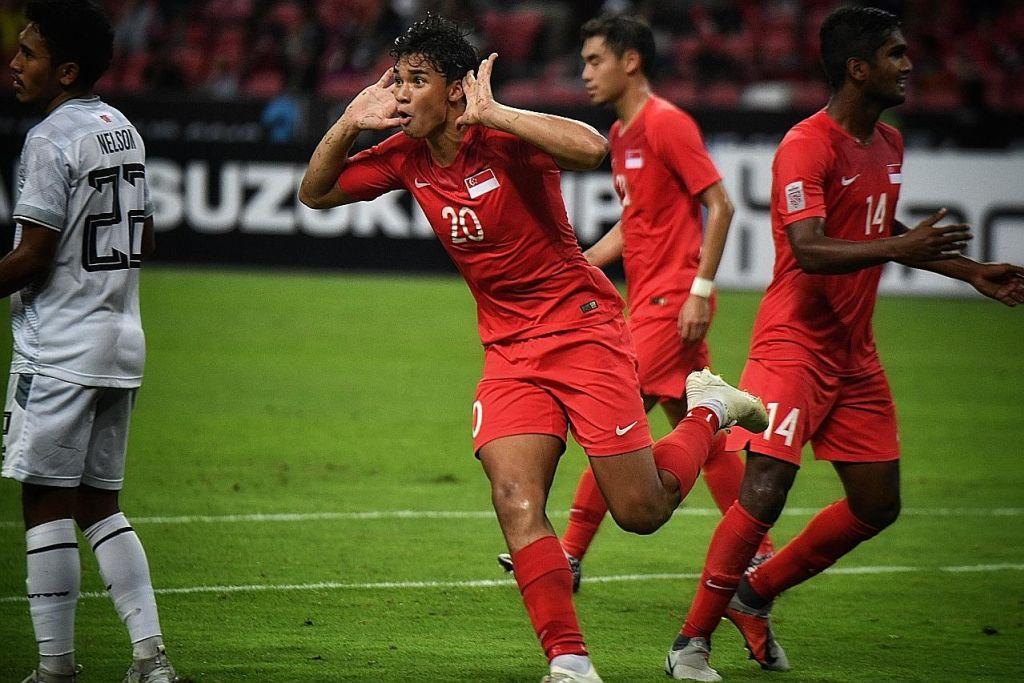 'Masa depan bola sepak Singapura adalah cerah dengan bakat muda'