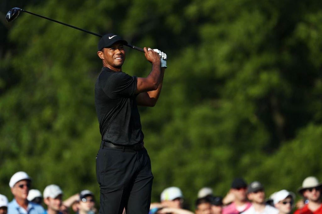 MASIH MAMPU: Tiger Woods tunjukkan kecemarlangan di Kejohanan PGA di Bellerive Country Club pada Ogos tahun lalu di St Louis, Missouri. – Foto AFP