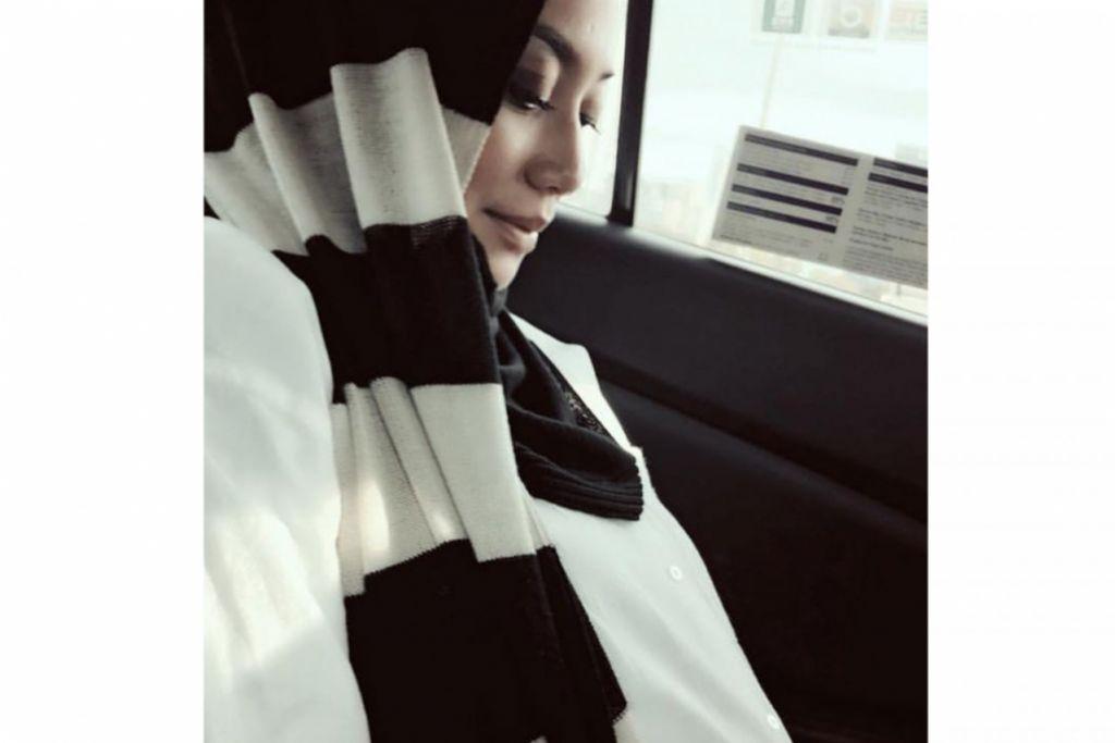 RAHSIA TERBONGKAR JUA: Nura J, atau nama penuhnya Nurashikin Jasni, merahsiakan kehamilan anak ketiganya sehinggalah usia kandungan itu melepasi trimester kedua. – Foto INSTAGRAM NURA J