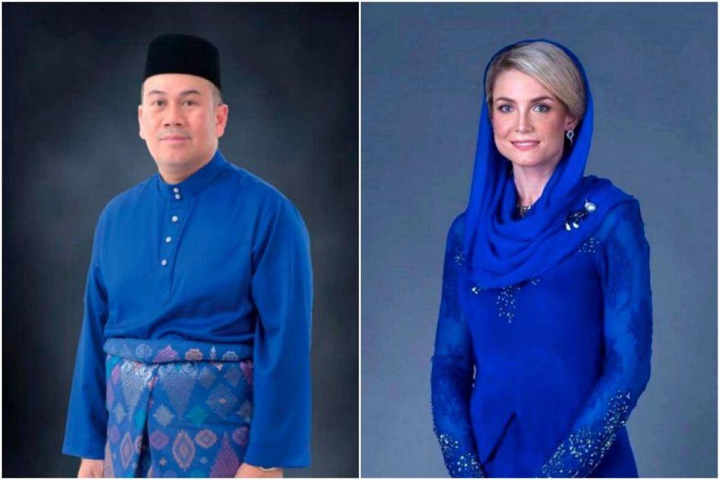 """Upacara perkahwinan Tengku Mahkota Kelantan Tengku Muhammad Faiz Petra dan warga Sweden Sofie Louise Johansson akan diadakan pada """"skala sederhana"""". FOTO: BERNAMA"""