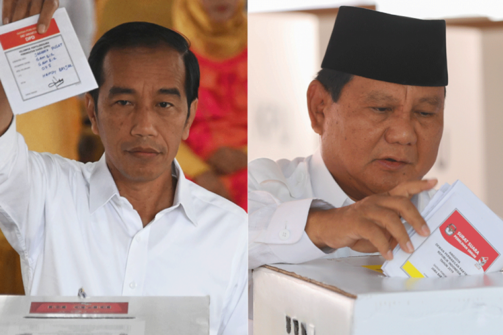 Jokowi ahead of rival Prabowo in early quick count vote tallies