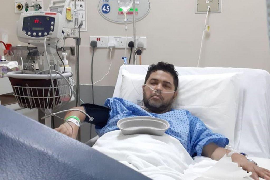 PERNAH JALANI RAWATAN: Nur, semasa dirawat di hospital. – Foto ihsan NURADEE