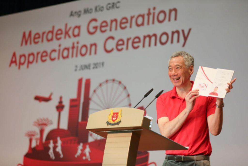 8,300 members of Merdeka Generation receive welcome folders at community events
