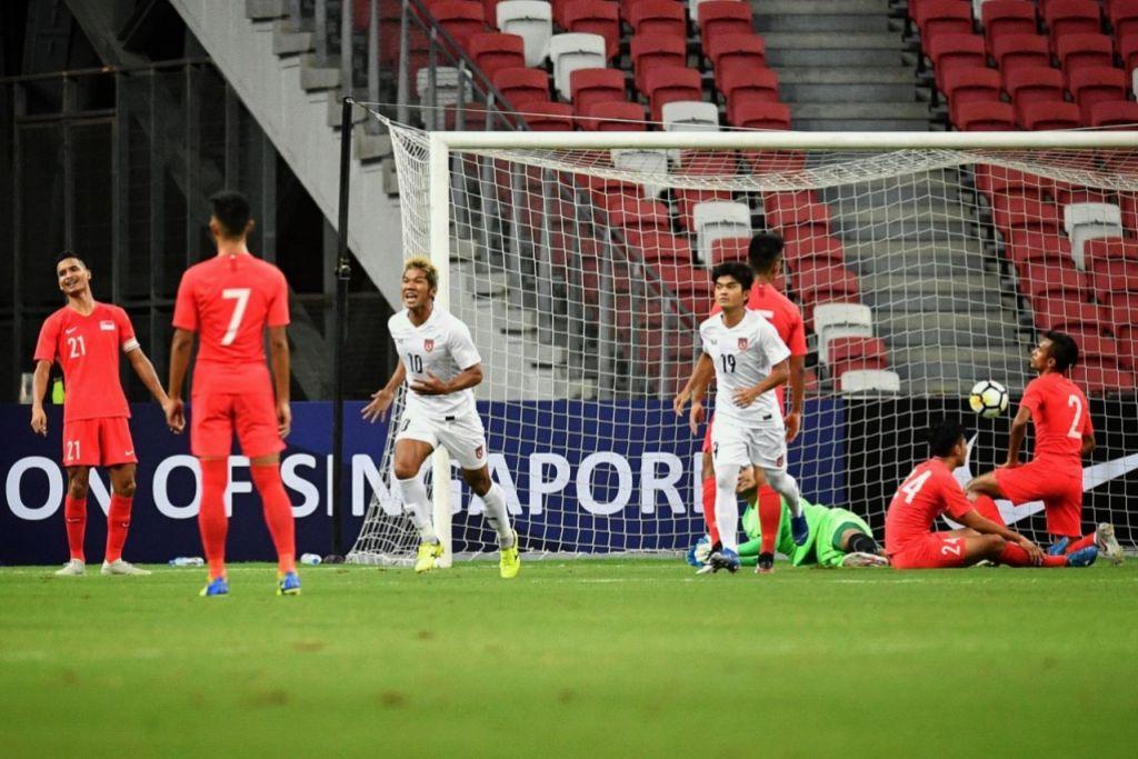 Singapore Myanmar friendly match