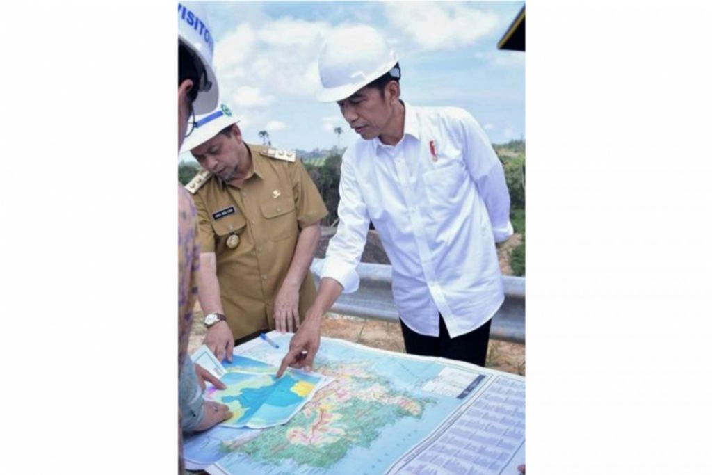 Presiden Joko 'Jokowi' Widodo, mengenai alasan bagi rancangan pemindahan ibu negara Indonesia.