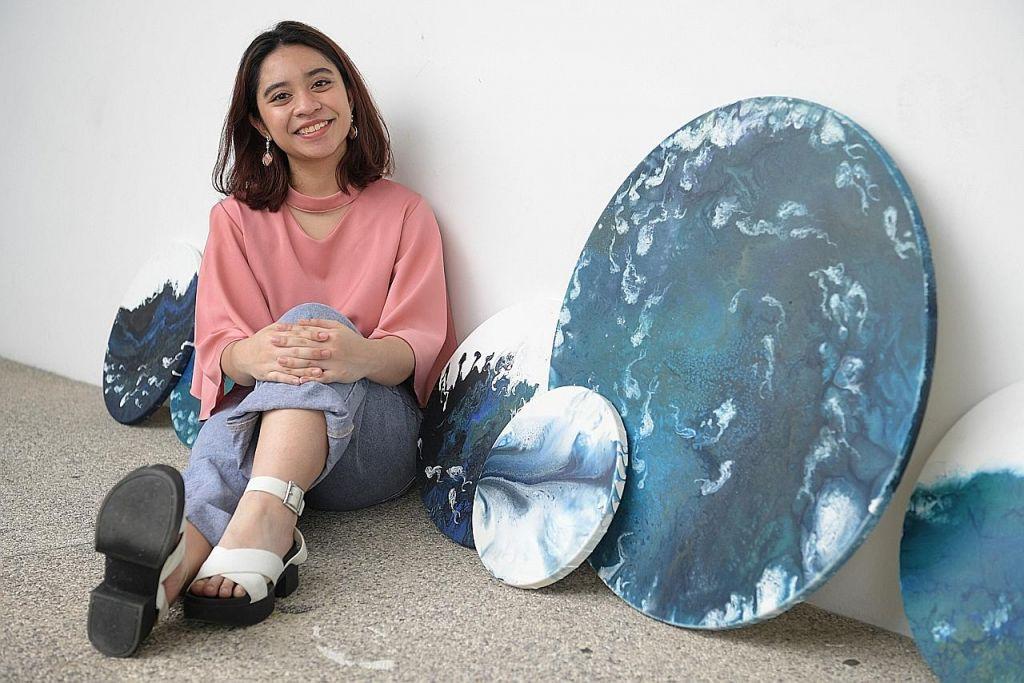 Bercita-cita jadi kurator berbekal bakat dalam seni lukisan