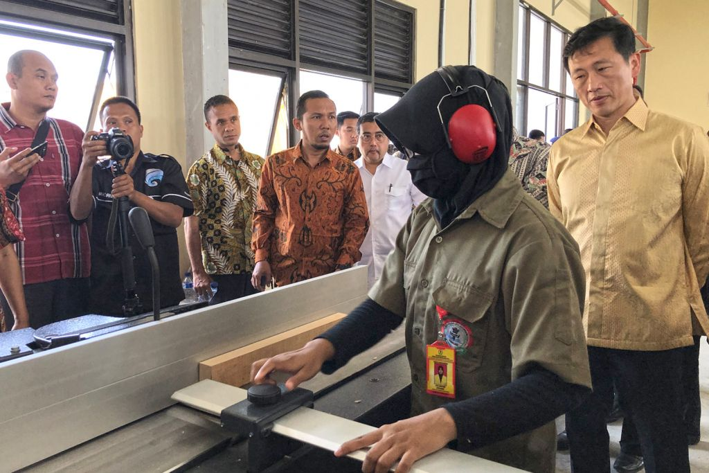 SG, Indonesia teroka kerjasama dalam pendidikan vokasional