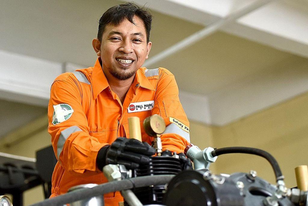 Sedia kembali ke poly selepas raih sijil GCE 'A' semata-mata buru minat dalam kejuruteraan