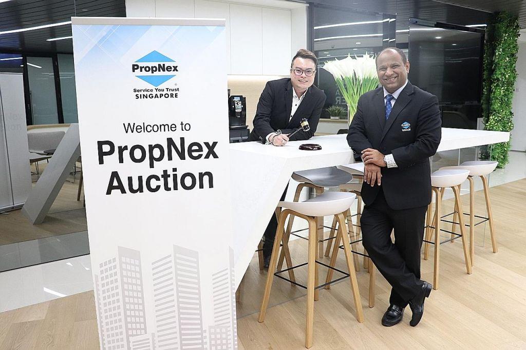 PropNex beri pilihan bagi pemilik jual flat secara lelong dalam tender awam terbuka