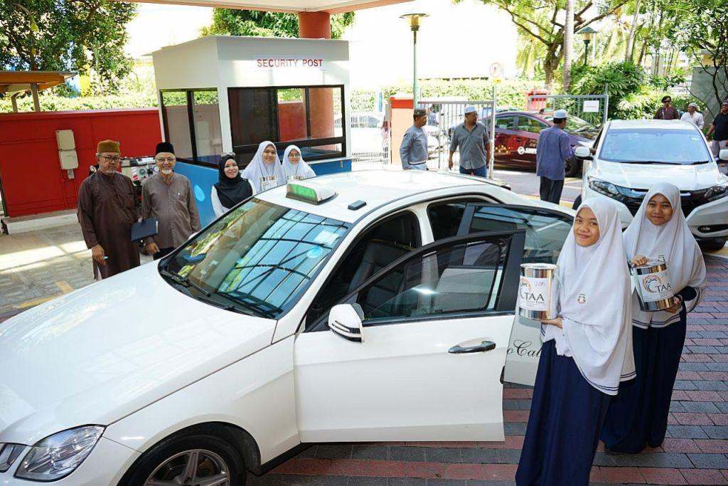 Pelajar madrasah, pemandu kereta, teksi, bantu TAA