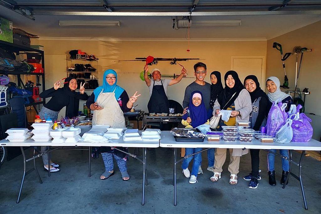 Giat perjuang kuih-muih tradisional walau hijrah ke Australia