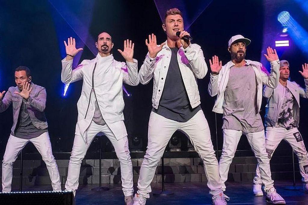 Backstreet Boys tidak terkebelakang