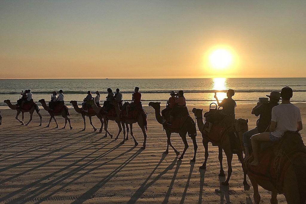 Australia Barat tarik pelancong dalam, luar negara