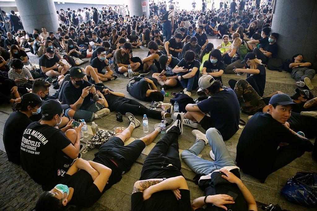 Krisis HK belum tampak reda
